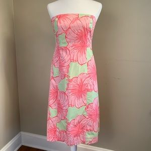 Lilly Pulitzer Strapless Dress; never worn